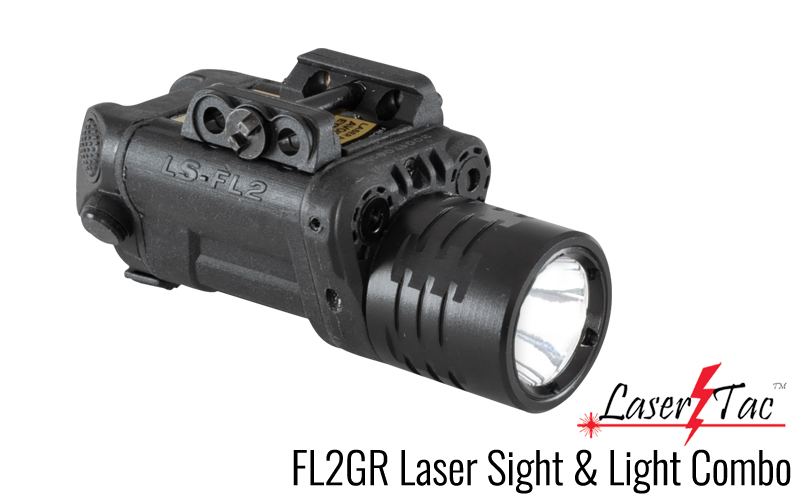 LaserTac FL2GR Red & Green Laser/Flashlight Combo